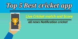 Best live cricket match app