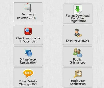 how to check voter list