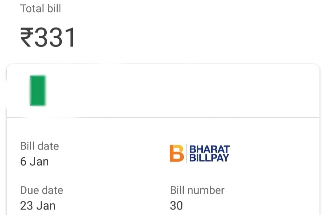 bijli bill check
